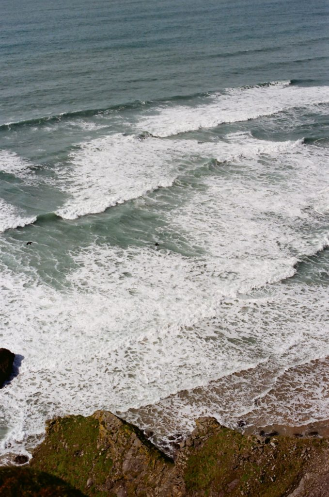 Waves and white water